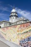 κράτος του Ιλλινόις capitol Στοκ Φωτογραφία
