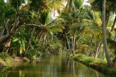 Κράτος του Κεράλα στην Ινδία Στοκ Φωτογραφίες
