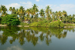 Κράτος του Κεράλα στην Ινδία Στοκ εικόνες με δικαίωμα ελεύθερης χρήσης