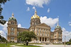 κράτος του Iowa capitol Στοκ εικόνες με δικαίωμα ελεύθερης χρήσης