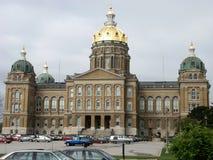 κράτος του Iowa capitol Στοκ εικόνα με δικαίωμα ελεύθερης χρήσης