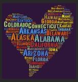 Κράτος των Ηνωμένων Πολιτειών Στοκ εικόνες με δικαίωμα ελεύθερης χρήσης
