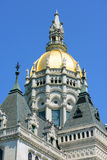Κράτος Capitol, Χάρτφορντ, CT, ΗΠΑ του Κοννέκτικατ Στοκ εικόνα με δικαίωμα ελεύθερης χρήσης