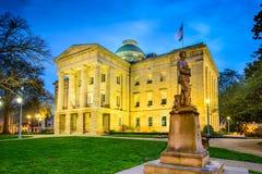 Κράτος Capitol Raleigh Στοκ Φωτογραφίες