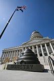 κράτος Utah capitol Στοκ Φωτογραφίες