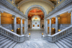 κράτος Utah capitol Στοκ Φωτογραφία