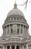 κράτος Wisconsin capiltol Στοκ Εικόνες