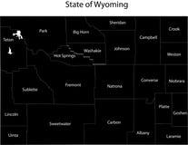 κράτος Wyoming διανυσματική απεικόνιση