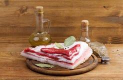Κρέας, λίπος Στοκ Εικόνες