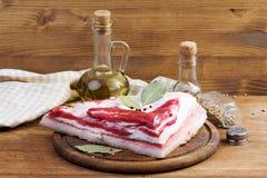 Κρέας, λίπος Στοκ εικόνα με δικαίωμα ελεύθερης χρήσης