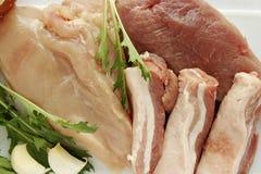 κρέας ακατέργαστο Στοκ Εικόνες