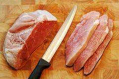 κρέας ακατέργαστο Στοκ εικόνες με δικαίωμα ελεύθερης χρήσης