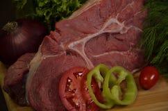 κρέας ακατέργαστο Στοκ Φωτογραφίες