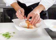 κρέας αστακών που προετ&omicro Στοκ Φωτογραφία