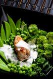 κρέας κοτόπουλου Στοκ Φωτογραφία