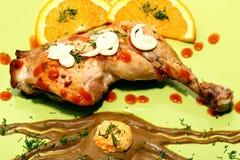 κρέας κοτόπουλου Στοκ Εικόνες