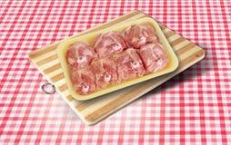 κρέας κοτόπουλου ακατέ&rh Στοκ εικόνες με δικαίωμα ελεύθερης χρήσης