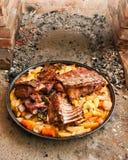 κρέας κουδουνιών κάτω Στοκ εικόνα με δικαίωμα ελεύθερης χρήσης