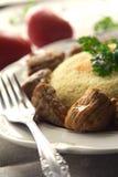 κρέας κουσκούς Στοκ Εικόνες