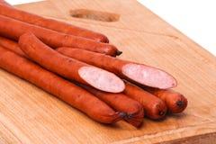 κρέας λιχουδιών χαρτονιώ&nu Στοκ Εικόνα