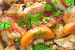 Κρέας με τα λαχανικά στοκ φωτογραφία με δικαίωμα ελεύθερης χρήσης