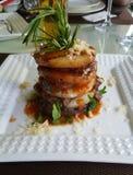 Κρέας με τον ανανά Στοκ φωτογραφία με δικαίωμα ελεύθερης χρήσης