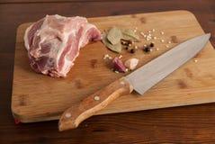 Κρέας με το χοιρινό κρέας Στοκ φωτογραφίες με δικαίωμα ελεύθερης χρήσης