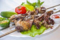 Κρέας - οβελίδια Στοκ φωτογραφία με δικαίωμα ελεύθερης χρήσης