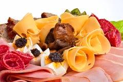 κρέας πιάτων Στοκ εικόνα με δικαίωμα ελεύθερης χρήσης