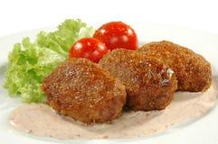 κρέας πιάτων Στοκ φωτογραφίες με δικαίωμα ελεύθερης χρήσης