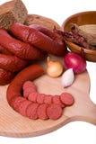 κρέας που καπνίζεται Στοκ Φωτογραφία