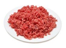 κρέας που κομματιάζεται στοκ εικόνες
