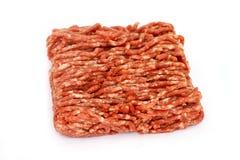 κρέας που κομματιάζεται Στοκ φωτογραφία με δικαίωμα ελεύθερης χρήσης