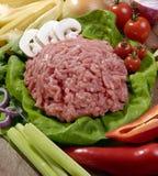 κρέας που κομματιάζεται Στοκ Φωτογραφίες