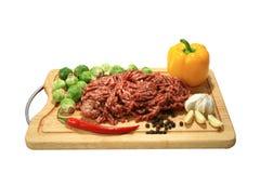 κρέας που κομματιάζεται Στοκ Εικόνα