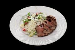 κρέας που τεμαχίζεται Στοκ Εικόνες