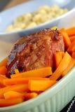 κρέας που ψήνεται κοινό στοκ φωτογραφία με δικαίωμα ελεύθερης χρήσης
