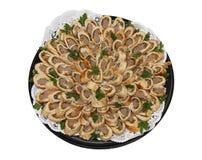 κρέας ρωσικά τροφίμων πιάτω&nu στοκ φωτογραφία