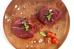Κρέας στρουθοκαμήλων Στοκ φωτογραφία με δικαίωμα ελεύθερης χρήσης