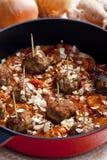 κρέας σφαιρών που κομματι Στοκ Φωτογραφία