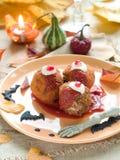 κρέας σφαιρών που κομματι Στοκ φωτογραφίες με δικαίωμα ελεύθερης χρήσης