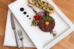 Κρέας ταρτάρου Στοκ Εικόνα