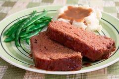 κρέας φραντζολών γευμάτων Στοκ φωτογραφίες με δικαίωμα ελεύθερης χρήσης