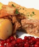 κρέας φραντζολών κινηματ&omicro Στοκ Εικόνα