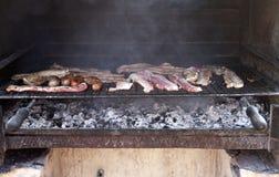 Κρέας barbacue Στοκ Εικόνες