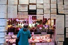 Κρέας Ordening Στοκ Φωτογραφία