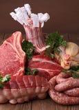 κρέατα ακατέργαστα Στοκ φωτογραφία με δικαίωμα ελεύθερης χρήσης