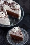 κρέμα κακάου κέικ Στοκ φωτογραφία με δικαίωμα ελεύθερης χρήσης