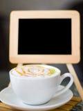 Κρέμα καφέ μαλακή Στοκ Εικόνες
