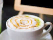 Κρέμα καφέ μαλακή Στοκ φωτογραφία με δικαίωμα ελεύθερης χρήσης
